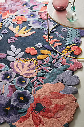Anthropologie Tufted Jardin Rug Swatch