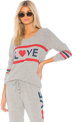 Chaser Love Open Back Pullover