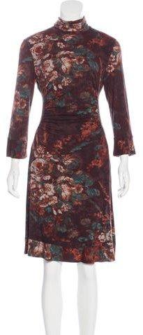 EtroEtro Floral Knit Dress