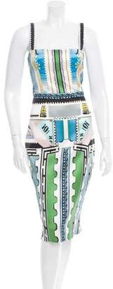 Mary Katrantzou Silk Sheath Dress w/ Tags