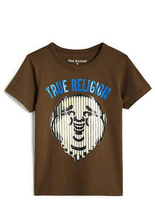 True Religion TODDLER/LITTLE KIDS BUDDHA STRIPE TEE