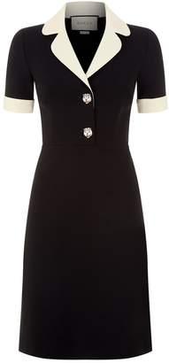 Gucci Tiger Embellished Mini Dress