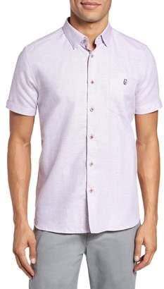 Ted Baker Peezett Short Sleeve Sport Shirt