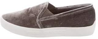 Joie Velvet Slip-On Sneakers