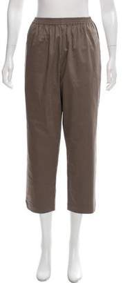 eskandar High-Rise Straight-Leg Pants