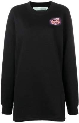 Off-White Woman logo sweater