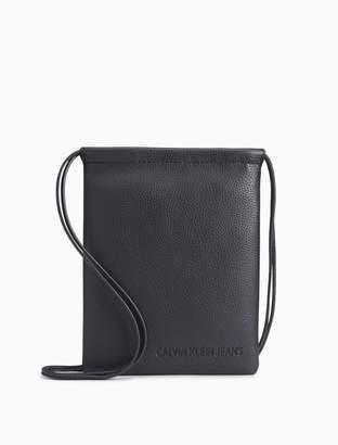 Calvin Klein ultra light flat crossbody bag