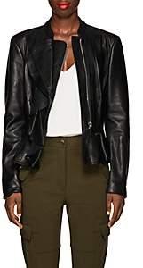 Altuzarra Women's Williams Leather Jacket - Black