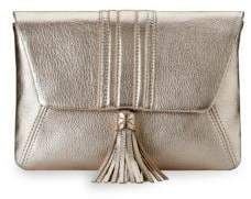 GiGi New York Ava Leather Clutch