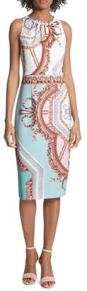 Ted Baker Orlla Embellished Midi Dress