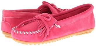 Minnetonka Kilty Suede Moc Women's Moccasin Shoes