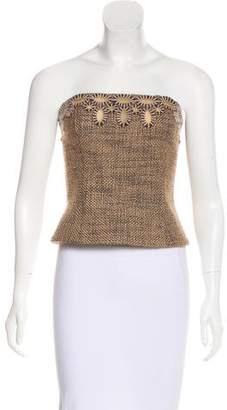 Chanel Embellished Wool Top
