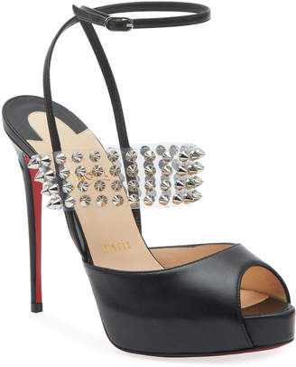 Christian Louboutin Levita Girl Platform Red Sole Sandals