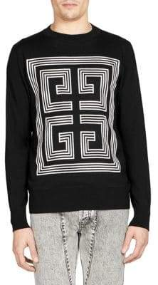 Givenchy Intarsia Logo Sweater