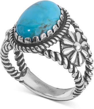 American West Turquoise Ring (4-1/5 ct. t.w.) in Sterling Silver