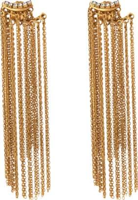 Erickson Beamon Breaker Of Chains Fringe Jacket Earrings