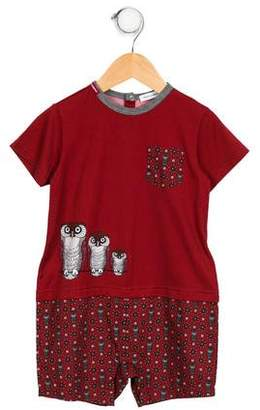 Dolce & Gabbana Kids' Animal Printed All-In-One
