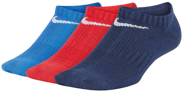 Performance Lightweight No-Show 3 Pack Socks - Boys