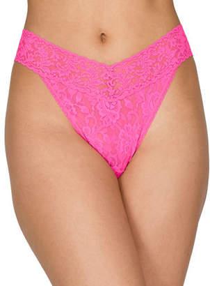 Hanky Panky Stretch Lace Original-Rise Thong