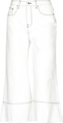 MSGM Denim pants - Item 42693493WV