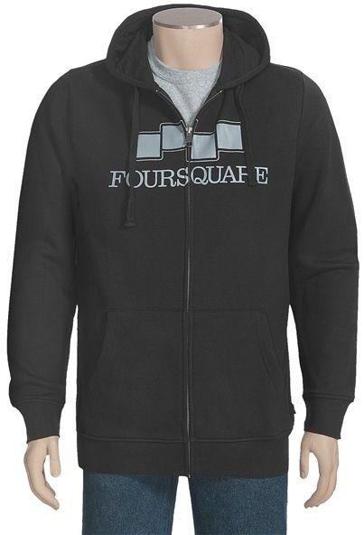 Foursquare Berm Hoodie Sweatshirt (For Men)