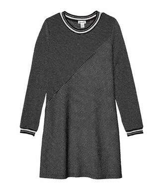 Splendid Littles Lurex Stripe Jersey Dress (Big Kids)