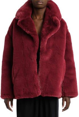 Diane von Furstenberg Long Sleeve Collared Jacket