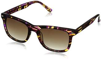 Betsey Johnson Women's Taylor Retro Square Sunglasses