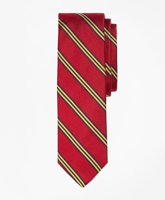 Brooks Brothers Mini BB#1 Rep Slim Tie
