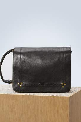 Jerome Dreyfuss Igor black goatskin crossbody bag