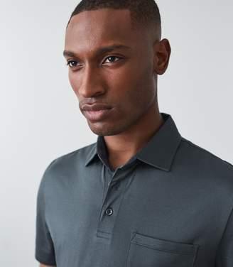 Reiss Elliot Short Sleeved Mercerised Polo Shirt
