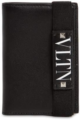 Valentino Vltn Logo Leather Wallet