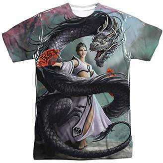 Dragon Optical Anne Stokes Gothic Fantasy Artist Asian Dancer Adult 2-Side Print T-Shirt