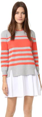 ENGLISH FACTORY Sweater Shirt Dress $92 thestylecure.com