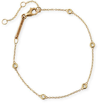 Chicco Zoe 14k Floating Diamond Station Bracelet