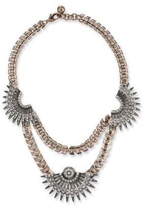 Lulu Frost Beacon Crystal Statement Necklace $395 thestylecure.com