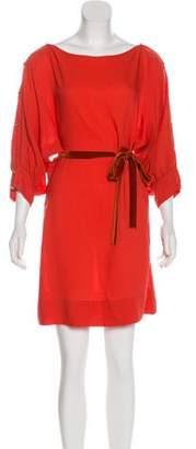 Stella McCartney Silk-Blend Mini Dress