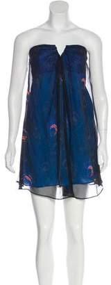 Elizabeth and James Strapless Mini Dress