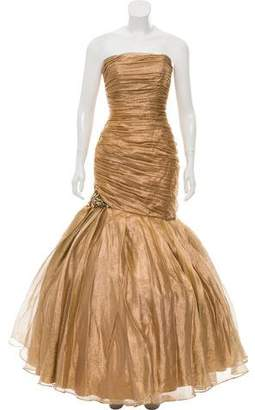 Jovani Ruched Evening Gown w/ Tags