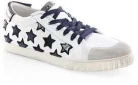 Ash Majestic Leather Sneakers $205 thestylecure.com