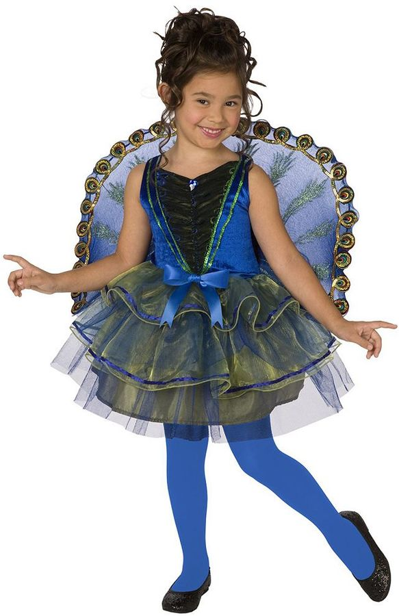 Pretty Peacock Costume - Kids
