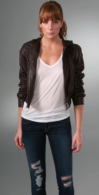 Mike & Chris Paul Leather Jacket