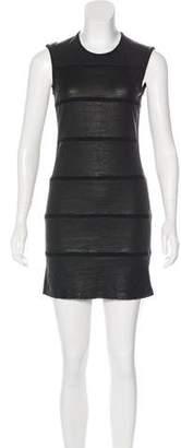 IRO Leather Mini Dress