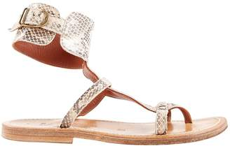 K. Jacques Leather sandals