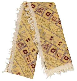 Isabel Marant Abstract Print Scarf