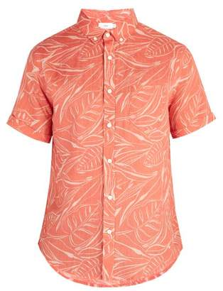 Onia Jack Cotton Shirt - Mens - Orange