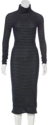 Rag & Bone Striped Long Sleeve Dress