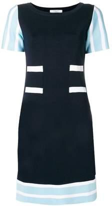 Charlott striped detail knit dress
