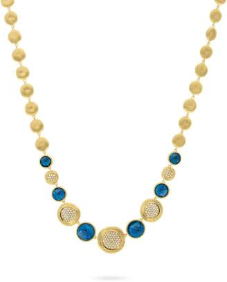 Marco Bicego Jaipur Gold and Diamond Necklace