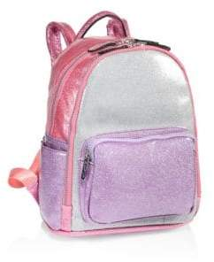 Bari Lynn Tricolor Mini Backpack